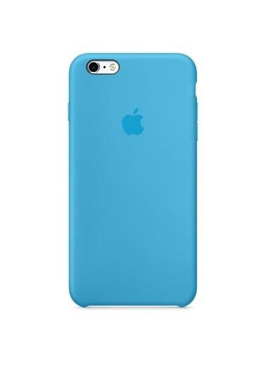 Jacobson iPhone 6/6S Plus Sert Silikon Kılıf Mavi